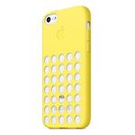 Чехол Apple iPhone 5C case (желтый, силиконовый)