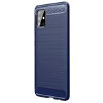 Чехол Yotrix Rugged Armor для Samsung Galaxy A71 (синий, гелевый)