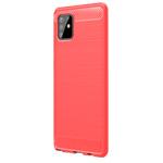 Чехол Yotrix Rugged Armor для Samsung Galaxy S10 lite 2020 (красный, гелевый)