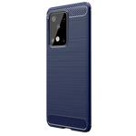 Чехол Yotrix Rugged Armor для Samsung Galaxy S20 ultra (синий, гелевый)