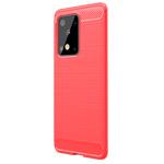 Чехол Yotrix Rugged Armor для Samsung Galaxy S20 ultra (красный, гелевый)