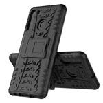 Чехол Yotrix Shockproof case для Samsung Galaxy A21 (черный, гелевый)