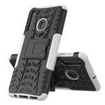 Чехол Yotrix Shockproof case для Samsung Galaxy A21 (белый, гелевый)