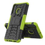 Чехол Yotrix Shockproof case для Samsung Galaxy A21 (зеленый, гелевый)
