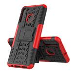 Чехол Yotrix Shockproof case для Samsung Galaxy A21 (красный, гелевый)
