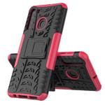 Чехол Yotrix Shockproof case для Samsung Galaxy A21 (розовый, гелевый)