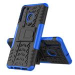 Чехол Yotrix Shockproof case для Samsung Galaxy A21 (синий, гелевый)