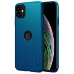 Чехол Nillkin Hard case для Apple iPhone 11 (синий, с отверстием, пластиковый)