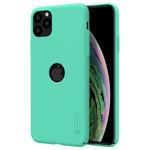 Чехол Nillkin Hard case для Apple iPhone 11 pro max (голубой, с отверстием, пластиковый)