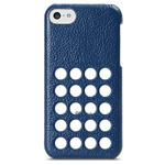 Чехол Melkco Snap Circle Dec Case для Apple iPhone 5C (синий, кожанный)