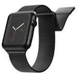 Ремешок для часов X-Doria Mesh Double Band для Apple Watch (38/40 мм, черный, стальной)