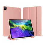 Чехол Dux Ducis Domo series для Apple iPad Pro 11 2020 (розовый, матерчатый)