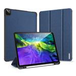 Чехол Dux Ducis Domo series для Apple iPad Pro 11 2020 (темно-синий, матерчатый)