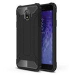 Чехол Yotrix Defense case для Samsung Galaxy J4 (черный, пластиковый)