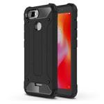Чехол Yotrix Defense case для Xiaomi Redmi 6 (черный, пластиковый)
