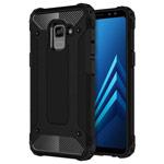 Чехол Yotrix Defense case для Samsung Galaxy A8 plus 2018 (черный, пластиковый)