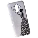Чехол Yotrix ArtCase для Samsung Galaxy S9 (Butterflies Girl, гелевый)