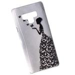 Чехол Yotrix ArtCase для Samsung Galaxy Note 9 (Butterflies Girl, гелевый)
