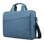 Сумка Lenovo Laptop Casual Toploader T210 универсальная (голубая, матерчатая, 15.6)