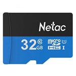 Флеш-карта Netac Memory Card microSD (32Gb, microSD, Class 10 U1, SD-адаптер)