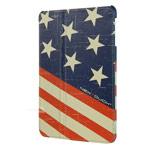 Чехол Nextouch I Love USA для Apple iPad mini/iPad mini 2 (с рисунком, кожанный)