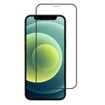 Защитное стекло Yotrix 3D SE Glass Protector для Apple iPhone 12 pro max (черное)