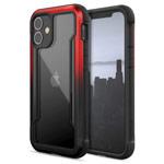 Чехол X-doria Defense Shield для Apple iPhone 12/12 pro (красный/черный, маталлический)