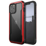 Чехол X-doria Defense Shield для Apple iPhone 12 pro max (красный, маталлический)