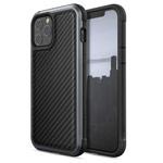 Чехол X-doria Defense Lux для Apple iPhone 12 pro max (Black Carbon, маталлический)