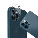 Защитное стекло Yotrix Camera Glass Protector для Apple iPhone 12 pro max (для камеры, прозрачное)