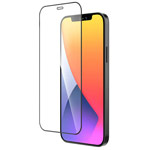 Защитное стекло Yotrix 3D Pro Glass Protector для Apple iPhone 12 mini (черное)