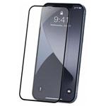 Защитное стекло Yotrix 3D Pro Glass Protector для Apple iPhone 12 pro max (черное)