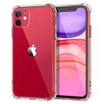 Чехол Yotrix Shockproof TPU для Apple iPhone 11 (прозрачный, гелевый)
