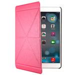 Чехол Yotrix OrigamiCase для Apple iPad Air (розовый, кожанный)