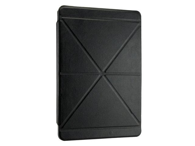 Чехол Yotrix OrigamiCase для Apple iPad 2/new iPad (черный, кожанный)
