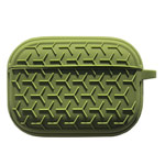 Чехол Synapse Triangle Case для Apple AirPods pro (темно-зеленый, силиконовый)