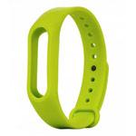 Ремешок для браслета Xiaomi Mi Band 2 (зеленый, силиконовый)