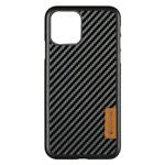 Чехол G-Case Dark Series для Apple iPhone 12 mini (Carbon Fiber, кожаный)