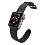 Ремешок для часов X-Doria Hybrid Leather Band для Apple Watch (38/40 мм, черный, кожаный)