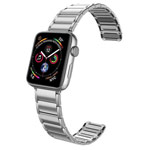 Ремешок для часов X-Doria Classic Band для Apple Watch (38/40 мм, серебристый, стальной)