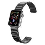 Ремешок для часов X-Doria Classic Band для Apple Watch (42/44 мм, черный, стальной)