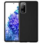 Чехол Yotrix LiquidSilicone для Samsung Galaxy S20 FE (черный, гелевый)