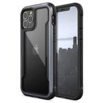 Чехол Raptic Defense Shield для Apple iPhone 12 pro max (черный, маталлический)