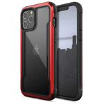 Чехол Raptic Defense Shield для Apple iPhone 12 pro max (красный, маталлический)