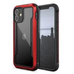 Чехол Raptic Defense Shield для Apple iPhone 12 mini (красный, маталлический)
