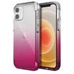 Чехол Raptic Air для Apple iPhone 12 mini (прозрачный/розовый, маталлический)