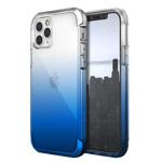Чехол Raptic Air для Apple iPhone 12/12 pro (прозрачный/синий, маталлический)