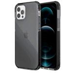Чехол Raptic Defense Clear для Apple iPhone 12 pro max (темно-серый, пластиковый)