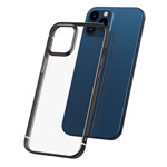 Чехол Baseus Shining Series для Apple iPhone 12 pro max (черный, гелевый)