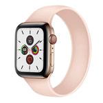 Ремешок для часов Yotrix Solo Loop для Apple Watch 38/40 мм (розовый, силиконовый)